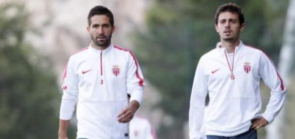 Moutinho e Bernardo Silva representam o Mónaco