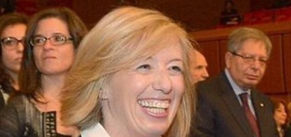 La ministra Stefania Giannini