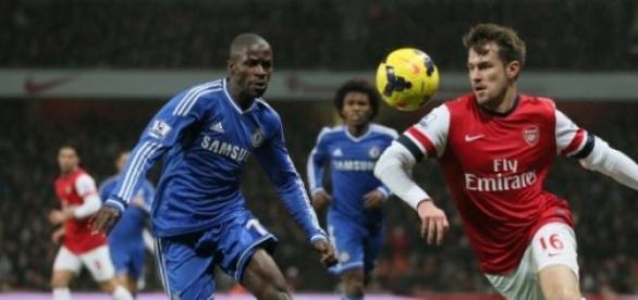 O Arsenal e o Chelsea empataram em 0 a 0
