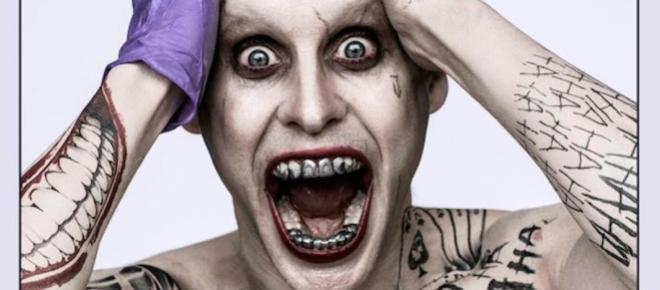 Jared Leto le da un toque punk al Joker