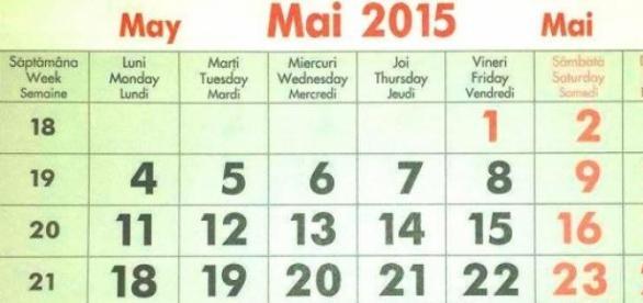 Calendar 2015, luna lui Florar