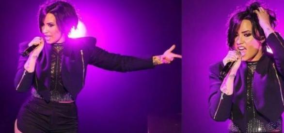 Demi Lovato em grande forma no Instagram