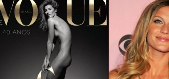 Gisele Bundchen na Vogue de Maio