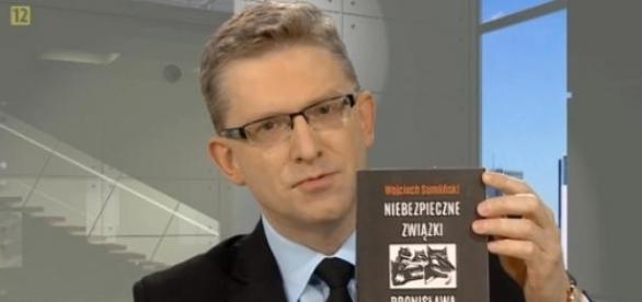 Grzegorz Braun (fot. TVP Info)