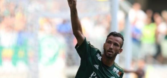 Leandro Pereira fez gol contra o Santos na final