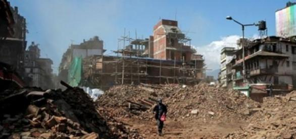 Kathmandu after earthquake