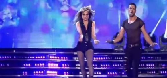 Marcela Feudale en Bailando por un Sueño