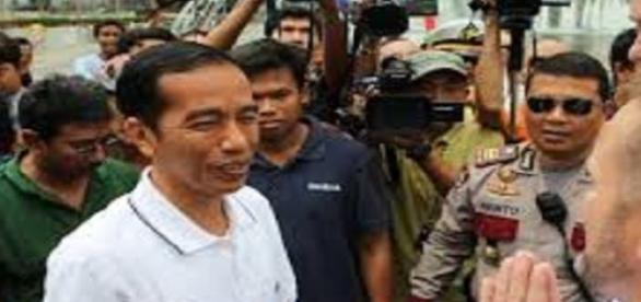 Presidente da Indonésia Joko Widodo