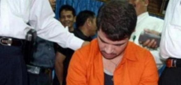Rodrigo Gularte foi executado com sete presos