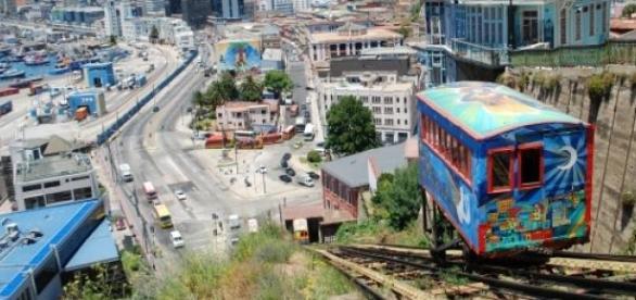 Uno de los retratos mas pintorescos de Valparaíso