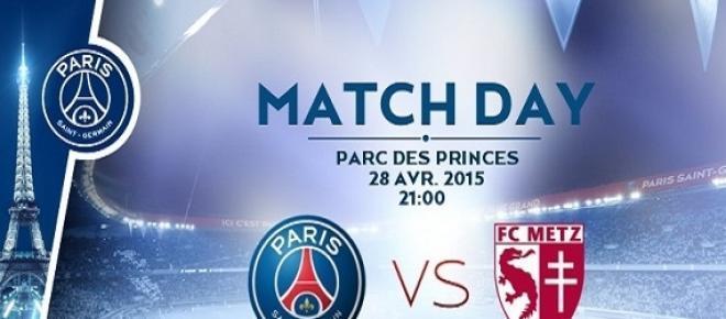 Ce soir, le PSG reçoit Metz, pour distancer Lyon ?