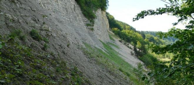 O deslizamento de terra ainda atua neste mundo.
