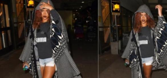 Rihanna arrasadora no regresso a Los Angeles