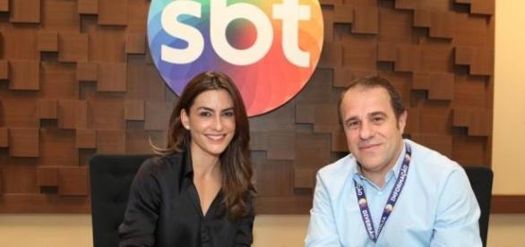 Ticiana Villas Boas assina com o SBT