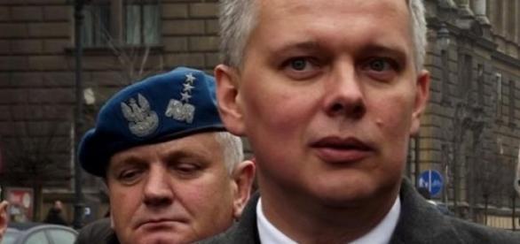 Minister Obrony Narodowej Tomasz Siemoniak