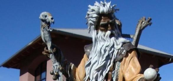 Estátua de Merlin, no Arizona, EUA.