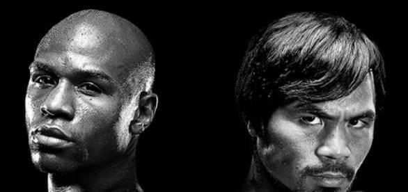 Floyd y Manny  frente a frente