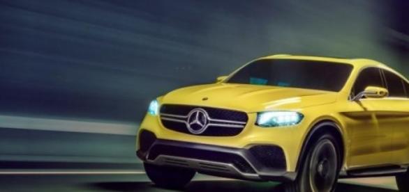 Le modèle GLC de Mercedes!