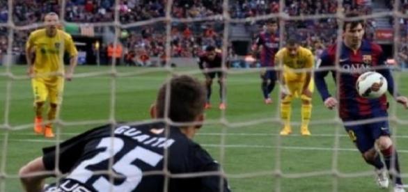 Lionel Messi y su jugada a lo Panenka