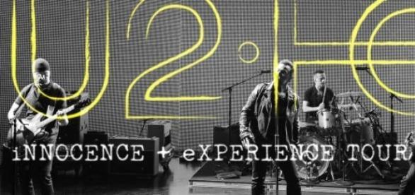 """Poster da """"Innocence + Experience Tour"""", do U2"""