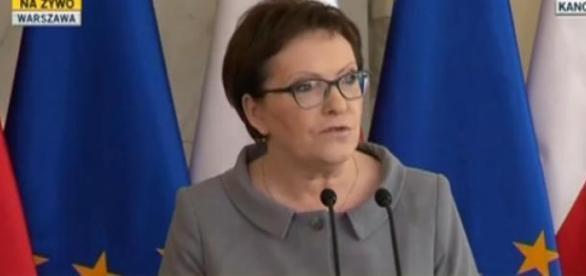 Premier Kopacz ogłasza nominację Borysława Budki