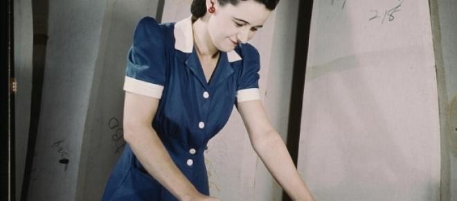 1941 - femme américaine au travail