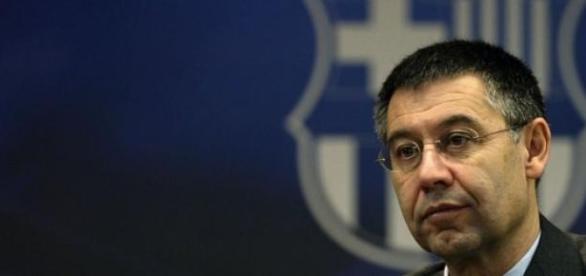 Bertomeu, actual presidente del F.C. Barcelona