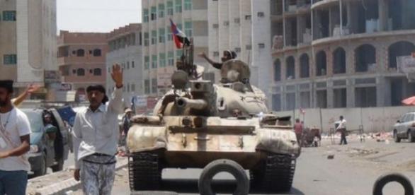 Le rebelles Houthis et leurs alliés