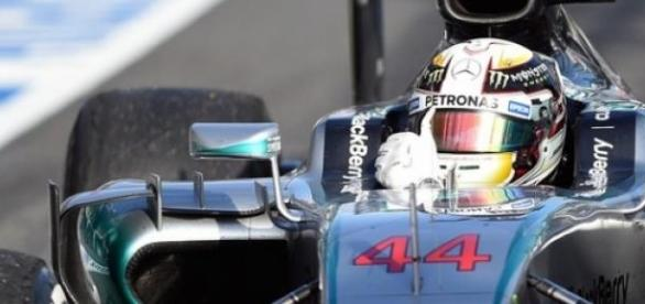 Lewis Hamilton no GP da Austrália
