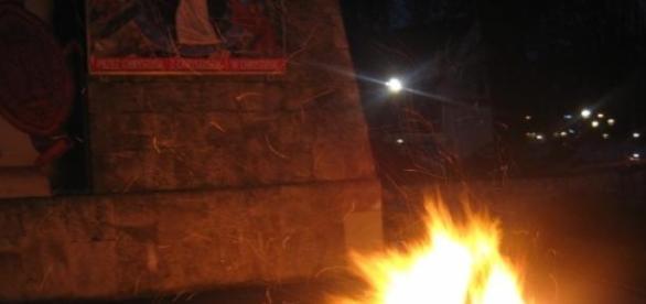Liturgia Światła- Ogień Paschalny