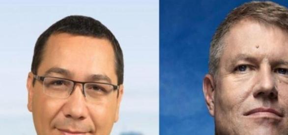 "Ponta si Klaus Iohannis candva ""prieteni..."""