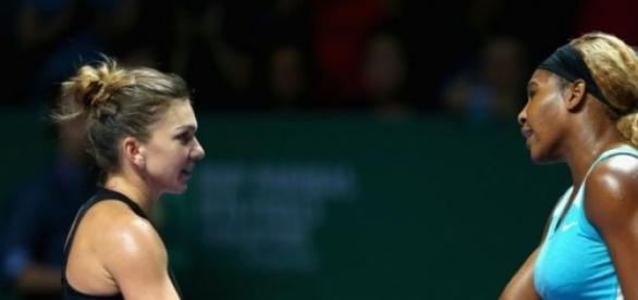 Serena a batut-o pe Halep