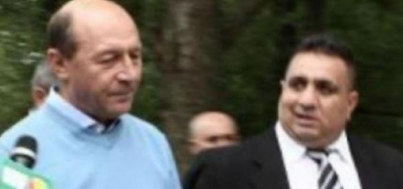 Traian Basescu si Bercea Mondialul