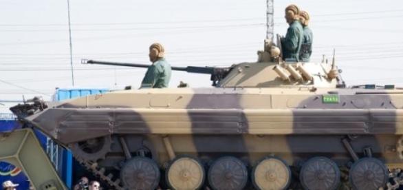 Tropas iranianas aproximam-se de Israel.