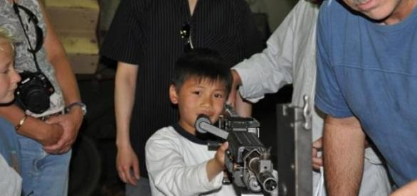 Copii sa detina legal o arma de foc