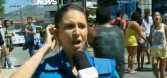 Equipe da Globo é expulsa de manifestação