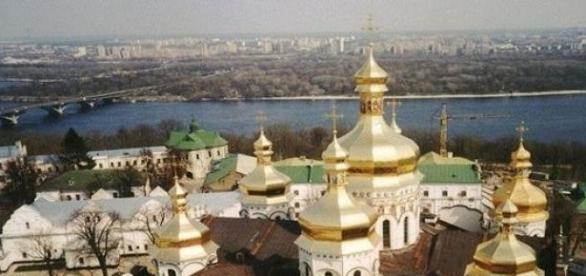 Kijów - prawosławna Ławra Peczerska