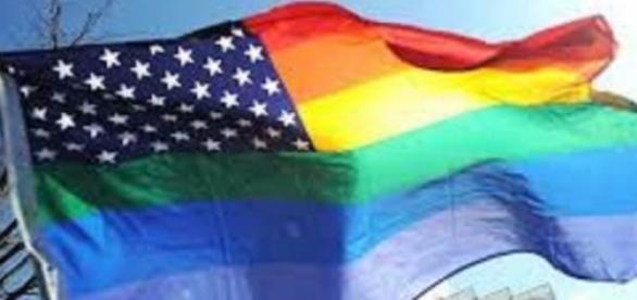 La bandera que ondeaba estos días pasados en EEUU
