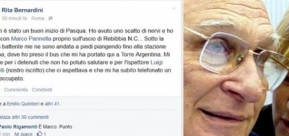 Lite in carcere tra Pannella e Bernardini