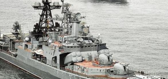 Nave rusesti stationate in Arctica