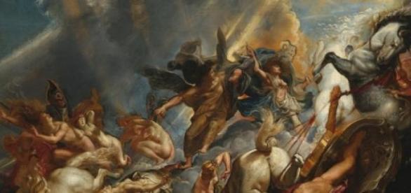 """Peter Paul Rubens """"Upadek Faetona"""""""
