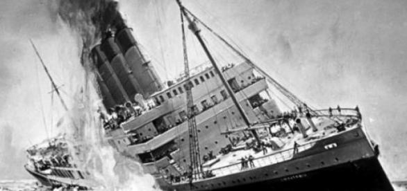 scufundare vapor, tragedie