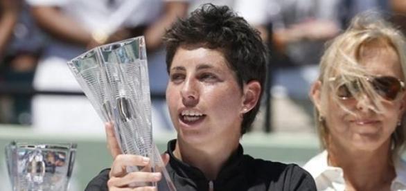 Carla Suárez flamante finalista en Miami