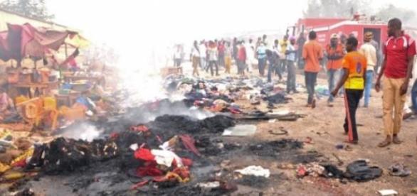 Região atacada pelo grupo Boko Haram