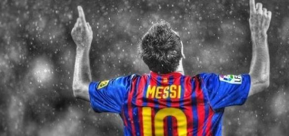 Lionel Messi au FC Barcelone