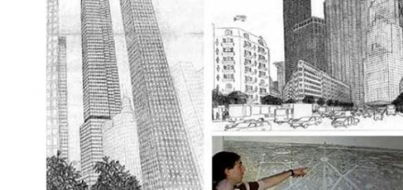 Gilles Tréhin si orasul sau imaginar