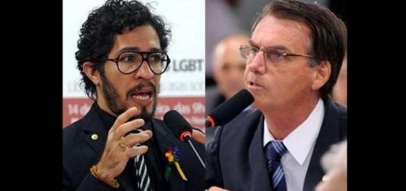 Jean wyllys se nega a sentar ao lado de Bolsonaro