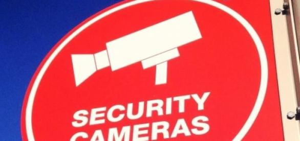 NSA Security Cameras Schild