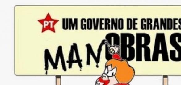 O governo mais santo do Brasil.