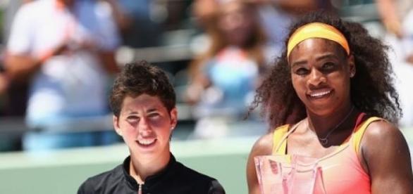 Serena Williams won the Miami Open